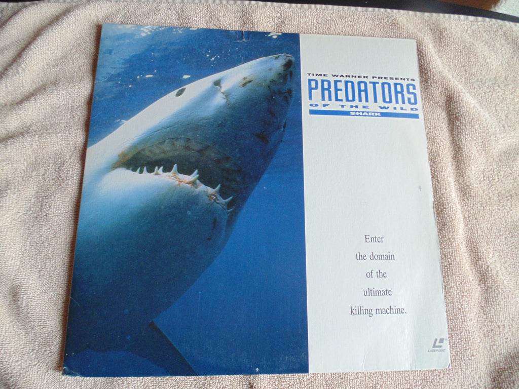 The Predators of the Wild LaserDisc, Shark, Time Warner, Fibits: DVD, LaserDisc, BluRay, CD, LP & Cassette Store