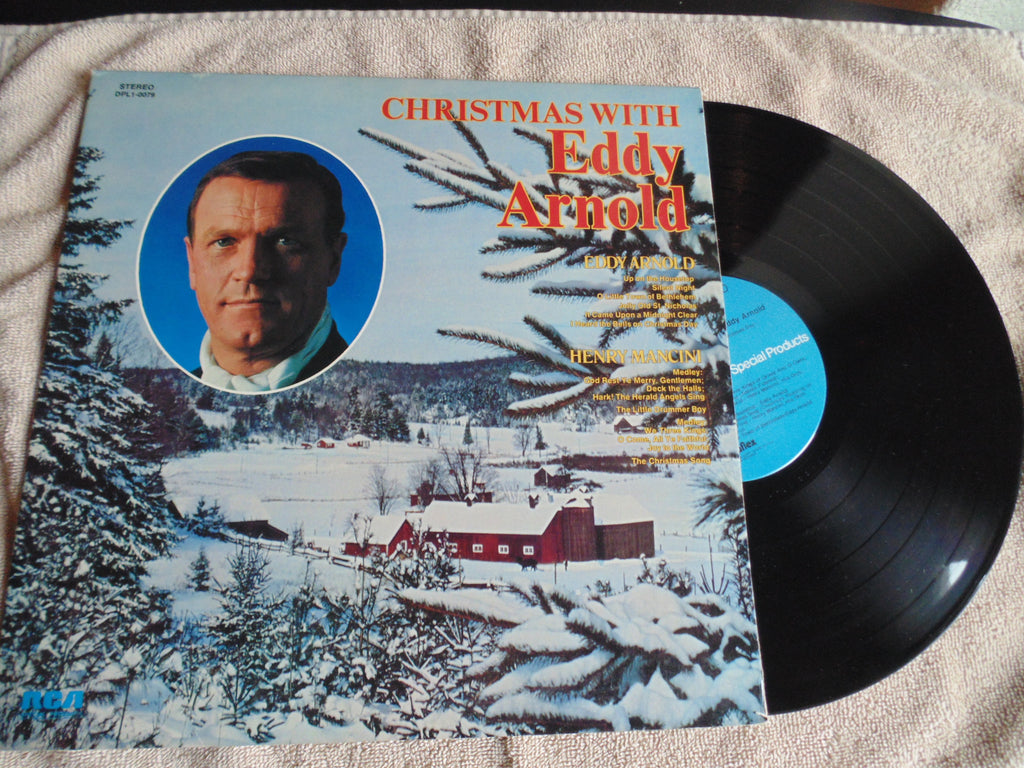 Henry Mancini / Eddy Arnold LP, Christmas with, Fibits: LP, CD, Video & Cassette Store