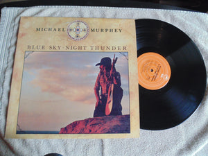Michael Murphy LP, Blue Sky Night Thunder, Fibits: LP, CD, Video & Cassette Store