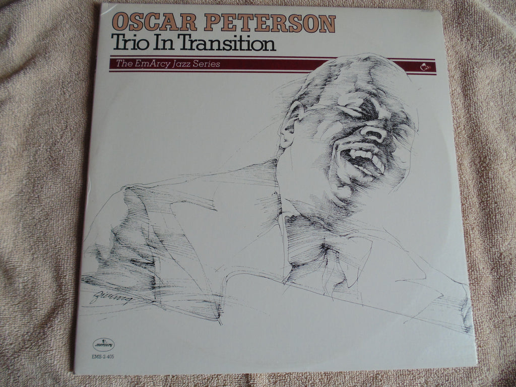 Oscar Peterson 2 LP, Trio in Transition, The EmArcy Jazz Series, Fibits: LP, CD, Video & Cassette Store
