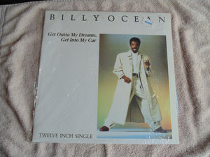 Billy Ocean LP, 12-Inch Single, Get Outta My Dreams, Fibits: LP, CD, Video & Cassette Store