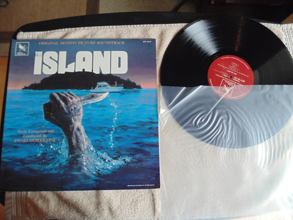 The Island LP, Soundtrack, Ennio Morricone, STV 81147, Fibits: LP, CD, Video & Cassette Store