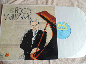 Roger Williams LP, Your Evening with, Fibits: LP, CD, Video & Cassette Store