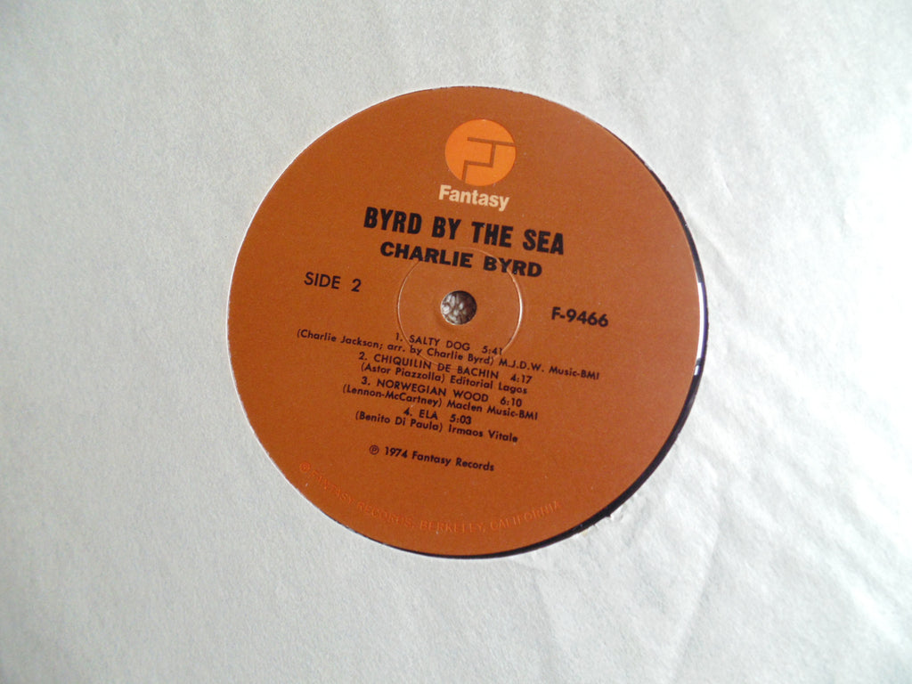 Charlie Byrd LP, Byrd by the Sea, Recorded Live, Fibits: LP, CD, Video & Cassette Store