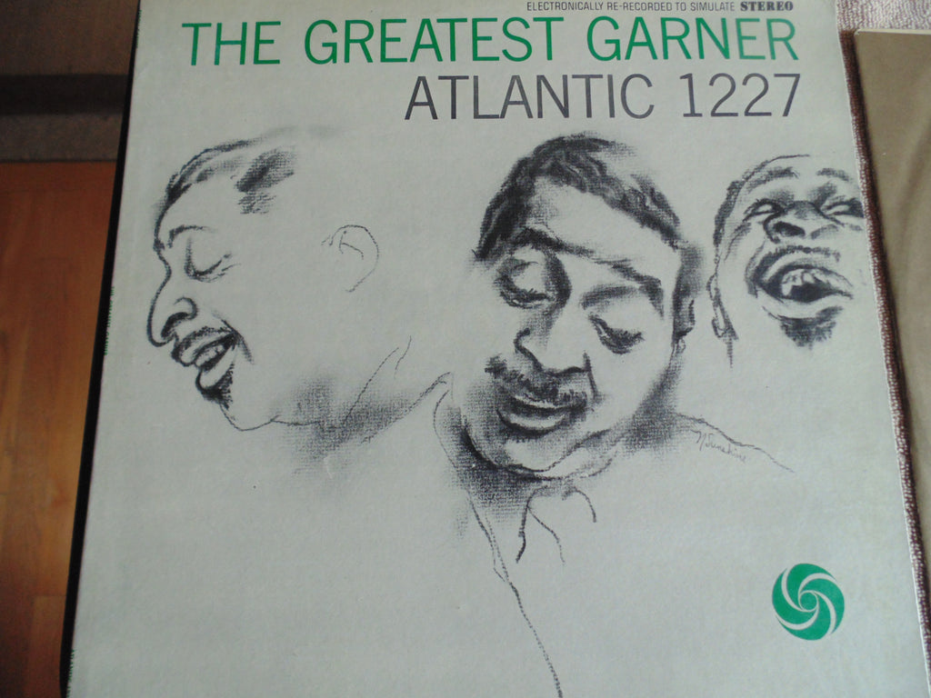 The Greatest Erroll Garner LP, Atlantic 1227, Fibits: LP, CD, Video & Cassette Store