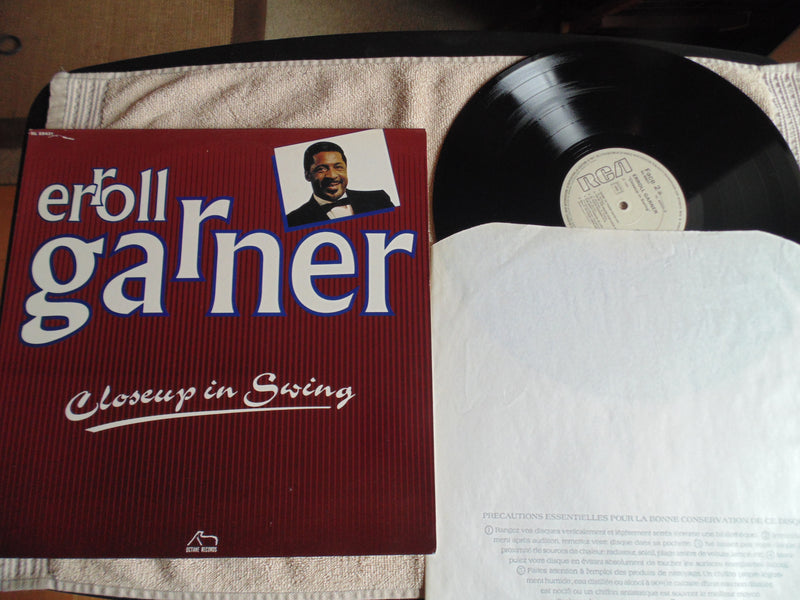 Erroll Garner LP, Closeup in Swing, Fibits: LP, CD, Video & Cassette Store