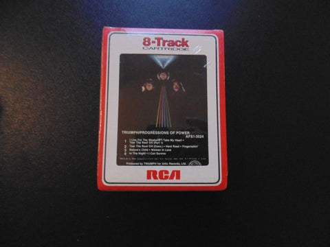 Triumph 8-Track Tape, NEW, Progressions of Power