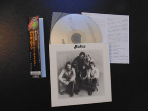 Rufus CD, Self-titled, S/T, Same, Japan Import w/ OBI, Mini-LP, Chaka Khan