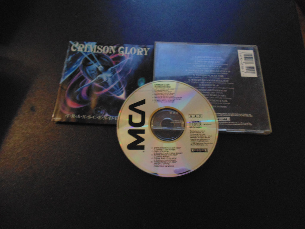 Crimson Glory CD, Transcendence, Original 1988 Pressing