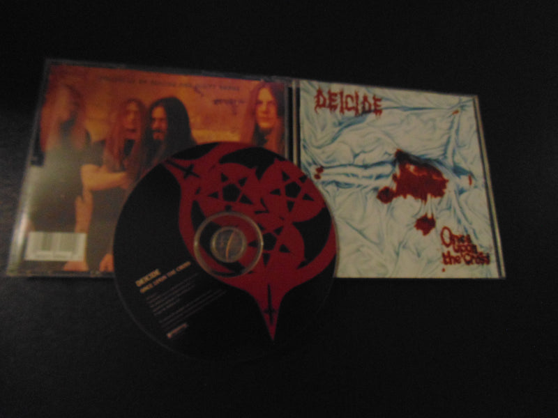 Deicide CD, Once Upon the Cross, 1995 Roadrunner Pressing