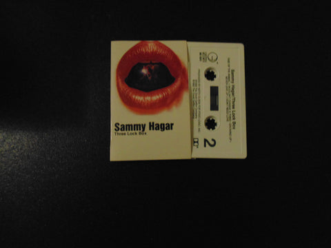 Sammy Hagar, Cassette, Three Lock Box, 3