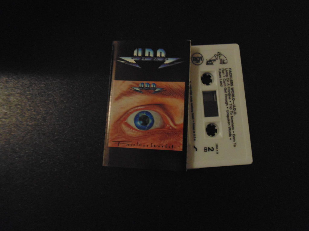 U.D.O. Cassette, Faceless World, Accept, Udo Dirkschneider