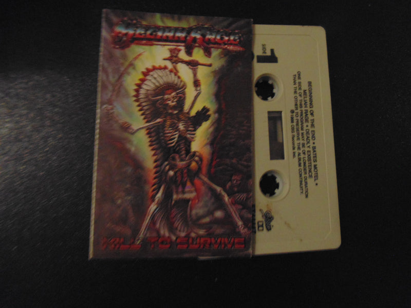 Meliah Rage, Cassette, Kill to Survive