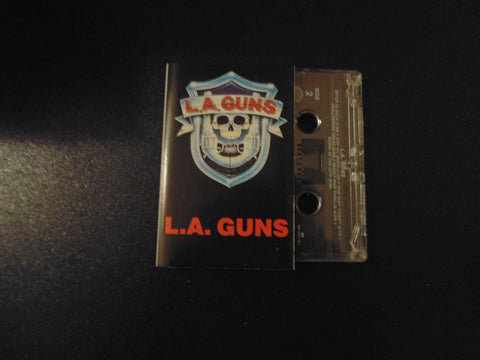 L.A. Guns, Cassette, Self-titled, Same, S/T, LA Guns