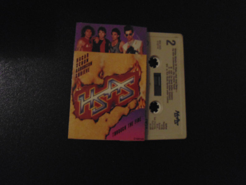 HSAS, Cassette, Through the Fire, Hagar, Schon, Van Halen, Journey, Chickenfoot