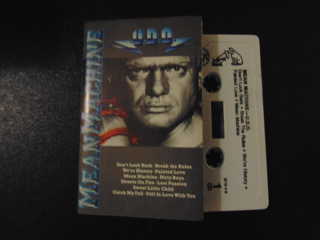 U.D.O. Cassette, Mean Machine, Accept, Udo Dirkschneider