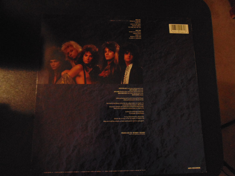 Lillian Axe LP, Self-titled, Same, Ratt, Robbin Crosby, Fibits: LP, CD, Video & Cassette Store