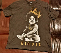 The Notorious BIG Biggie / Ready to Die / Black T-Shirt Men's Small