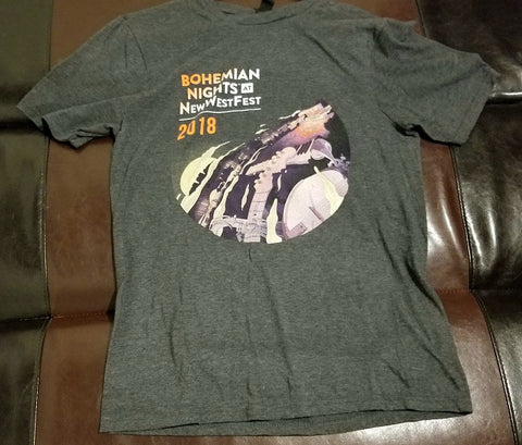 Bohemian Nights Festival 2018 T-Shirt -Men's Small / Medium - Blondie, The Decemberists, The Motet