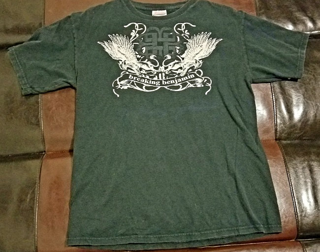 Breaking Benjamin Official 2008 Tour T-Shirt Men's Medium
