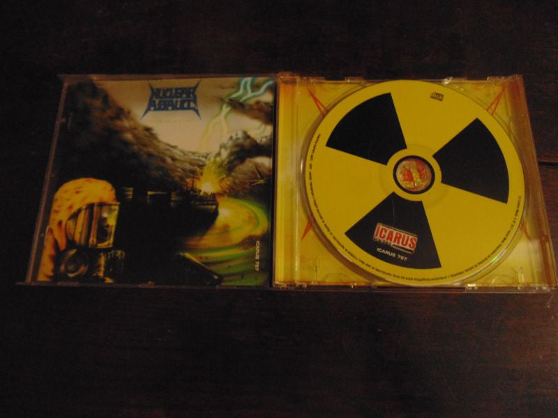 Nuclear Assault CD, Game Over, The Plague, Century Media, MINT, Century Media, Icarus 797