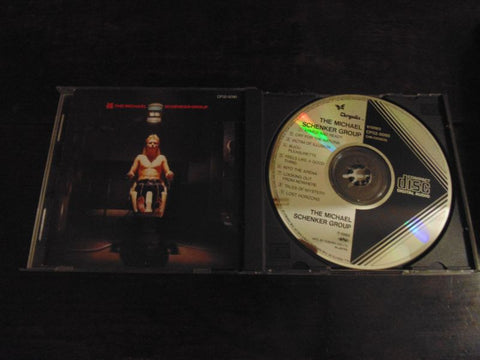 The Michael Schenker Group CD, Self-titled, S/T, Same, Japan Import, Chrysalis, CP 32, MSG, UFO