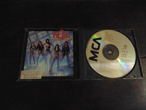 Keel CD, Self-titled, S/T, Same, MCA Records, Original Pressing, Promo