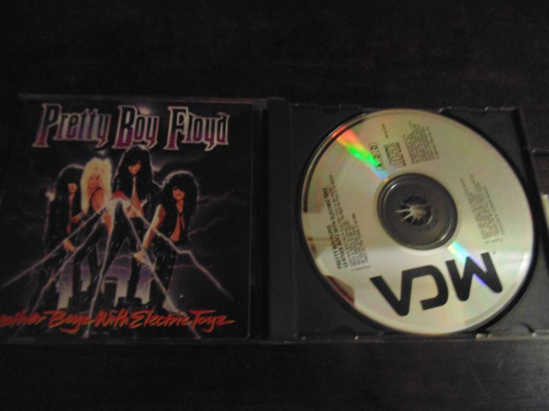 Pretty Boy Floyd CD, Leather Boyz with Electric Toyz, Original MCA, NO Promo, Toys Boys