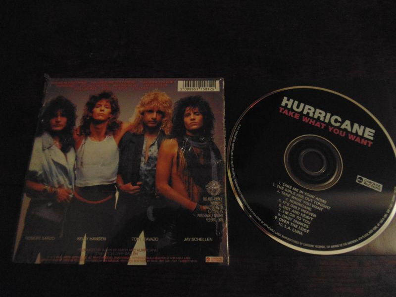 Hurricane, CD, Take What You Want, Foreigner, Sarzo, Cavazo, Remastered, Limited Mini Album Packaging