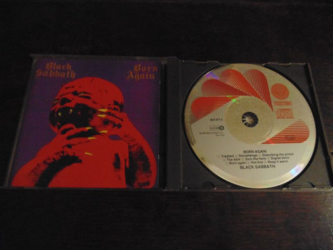 Black Sabbath CD, Born Again, Original Pressing, Deep Purple, Ian Gillan, Import, Vertigo