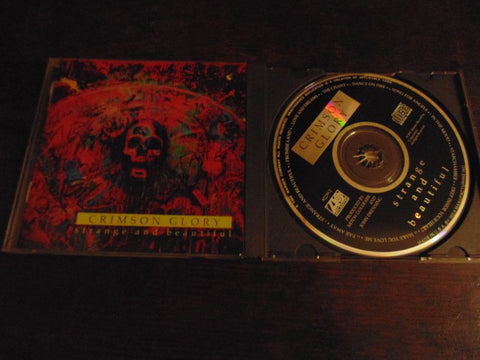 Crimson Glory CD, Strange and Beautiful, 1991 Atlantic Records