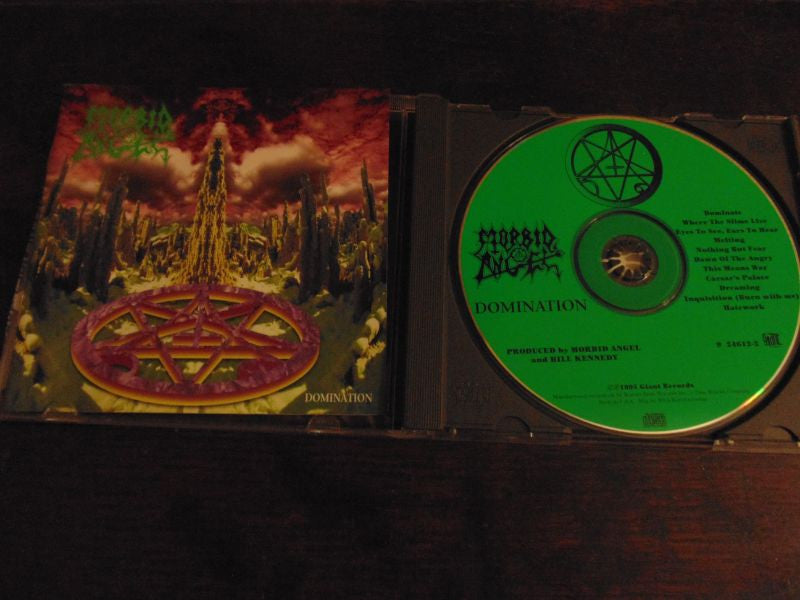Morbid Angel CD, Domination, 1995 Giant Records