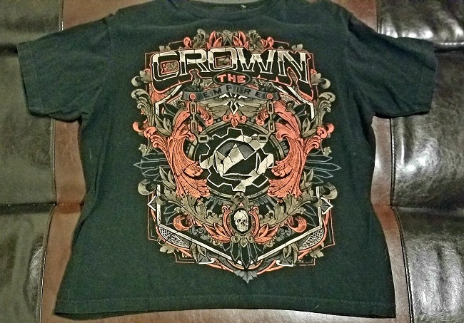 Crown the Empire Band T-Shirt Men's Small