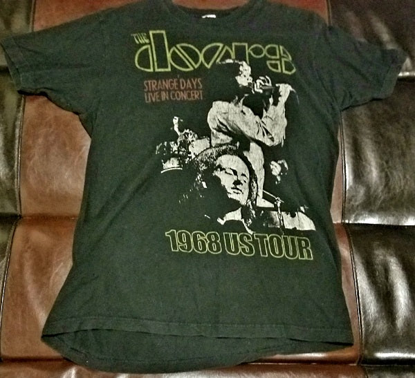 The Doors Strange Days 1968 Retro T-Shirt Men's Large