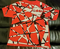 Eddie Van Halen Frankenstein Guitar Styled T-Shirt FMF Men's 2XL
