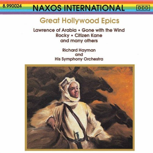 Great Hollywood Epics, Richard Hayman, Lawrence of Arabia, Rocky, Gone w/ the Wind