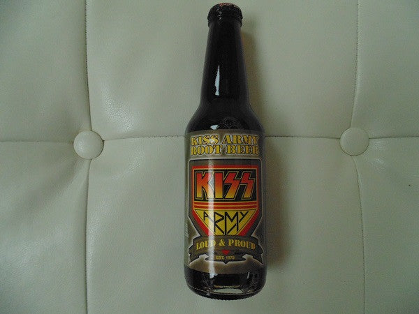 KISS Army Root Beer - KISS Cola, KOLA, SODA Series
