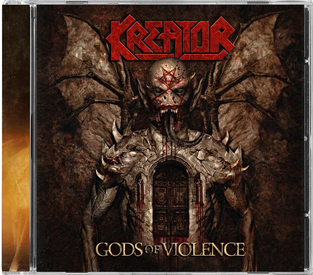 Kreator CD, Gods of Violence, NEW