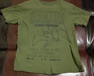 Led Zeppelin 'Song Remains the Same' T-Shirt Men's Small - World Premiere
