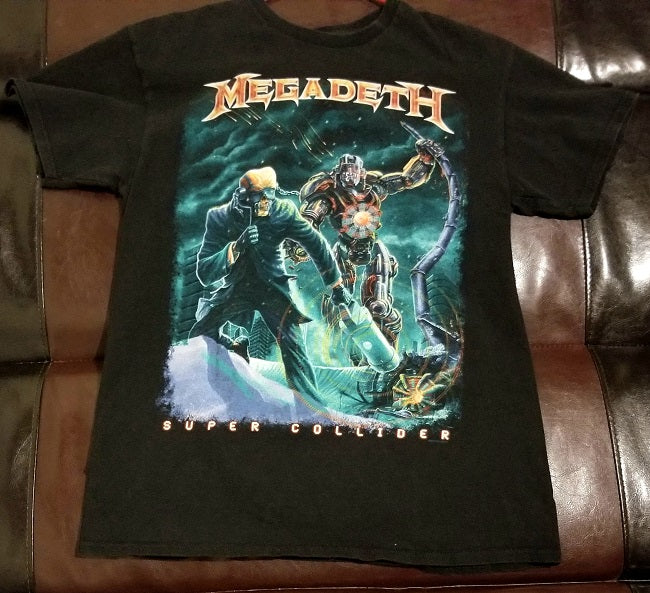 Megadeth Super Collider T-Shirt - Men's Medium