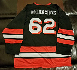 The Rolling Stones Hockey Jersey Men's Large (LG)