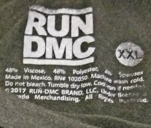 Run DMC 'It's Tricky' T-Shirt Men's XXL Tanktop - 2XL