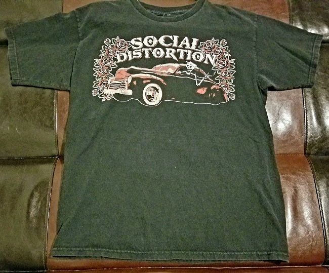 Social Distortion T-Shirt Men's Medium