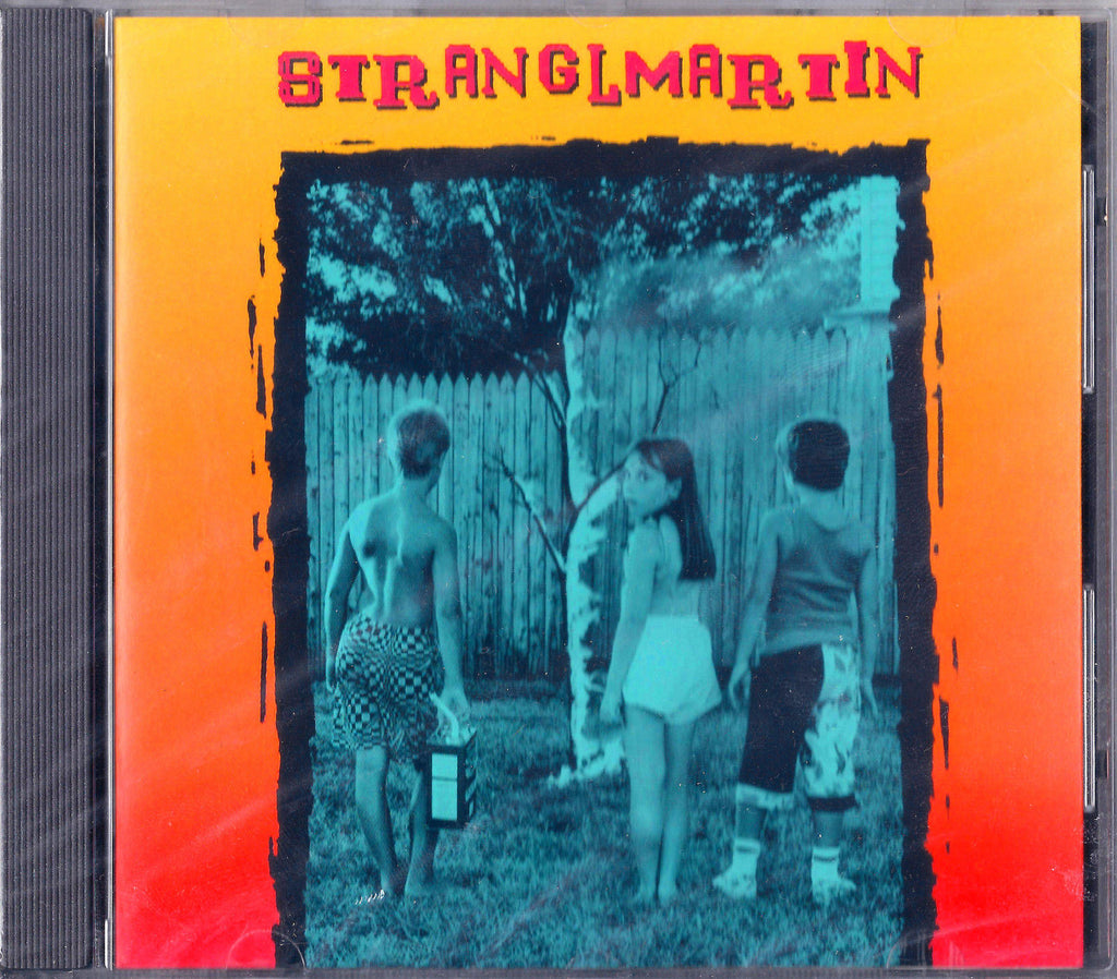 Stranglemartin CD, Self-titled, S/T, Same, Dragon Street Records