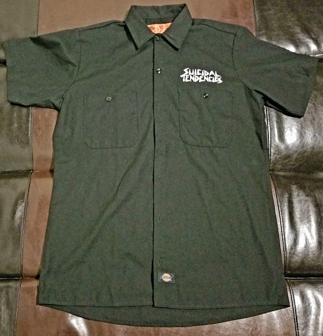 Suicidal Tendencies Dickies Shirt -Men's Small /  RG