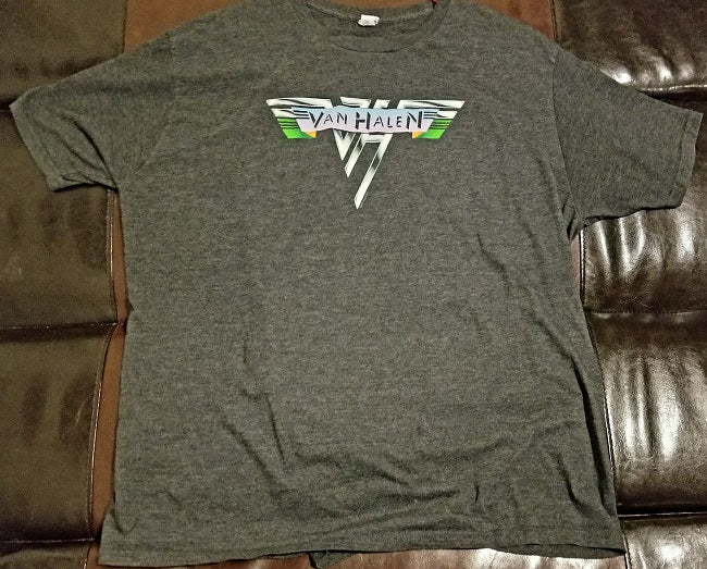 Van Halen T-Shirt Men's XXL - 2XL - Gray