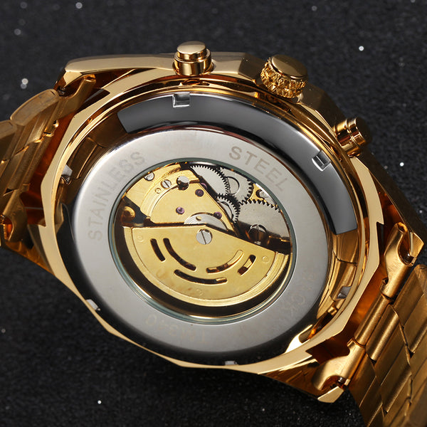 'Luxor' Mechanical Steampunk Watch