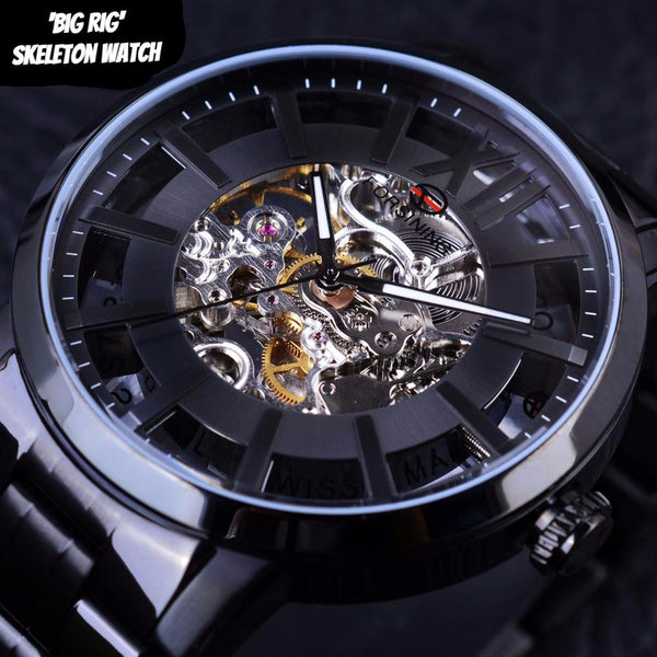 'Big Rig' Skeleton Watch (316 Stainless Steel)