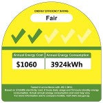 MXY3A28VA NEA Energy Label