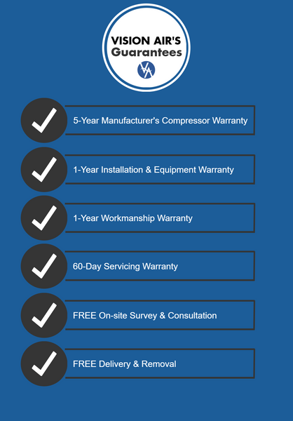 Vision Air Warranty & Guarantees